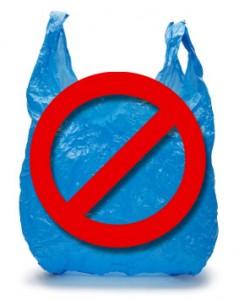Pas de sac plastique
