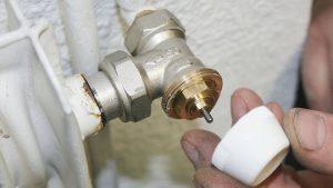 Robinet thermostaté de radiateur